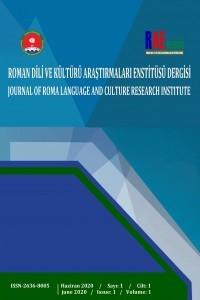 Roman Dili ve Kültürü Araştırmaları Enstitüsü Dergisi