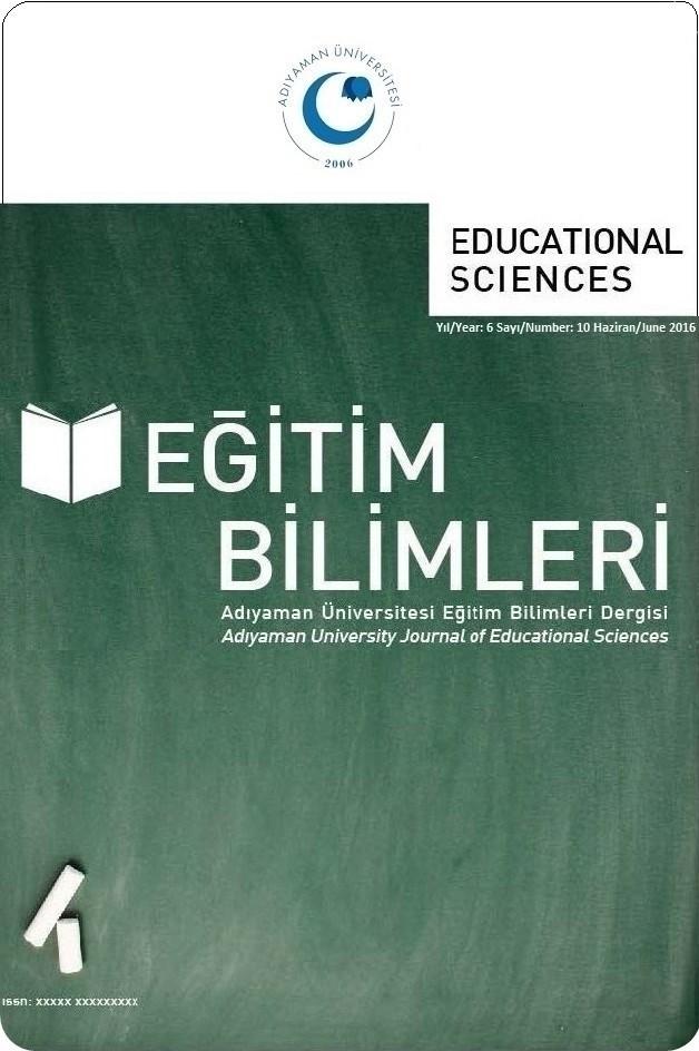 Adıyaman University Journal of Educational Sciences (AUJES)
