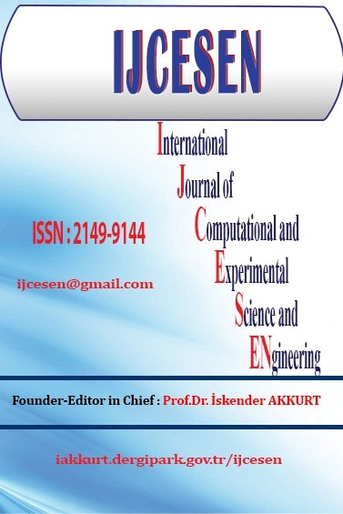 International Journal of Computational and Experimental Science and Engineering