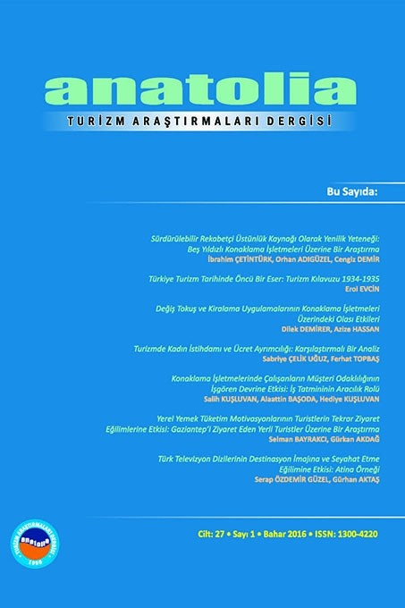 Anatolia: A Journal of Tourism Research