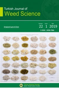 Turkish Journal of Weed Science