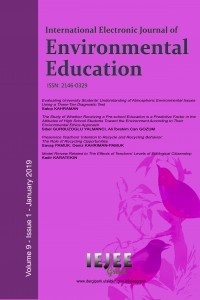 International Electronic Journal of Environmental Education