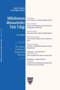 The Turkish Yearbook of International Relations