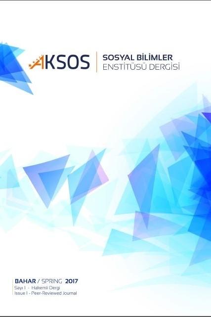 Akdeniz Üniversitesi Sosyal Bilimler Enstitüsü Dergisi