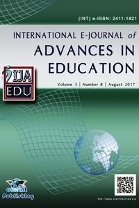IJAEDU- International E-Journal of Advances in Education