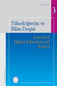 Yükseköğretim ve Bilim Dergisi
