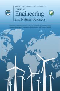 Karamanoglu Mehmetbey University Journal of Engineering and Natural Sciences