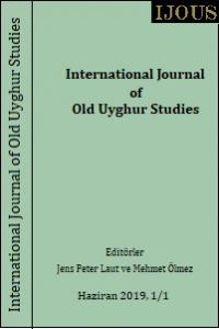 International Journal of Old Uyghur Studies