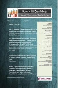 BİLTÜRK Ekonomi ve İlişkili Çalışmalar Dergisi