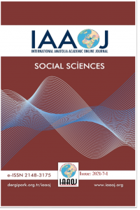 International Anatolia Academic Online Journal Social Sciences Journal