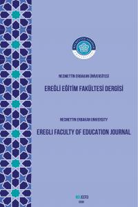 Ereğli Faculty of Education Journal