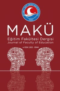 Mehmet Akif Ersoy University Journal of  Education Faculty