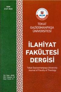 Gaziosmanpaşa Üniversitesi İlahiyat Fakültesi Dergisi