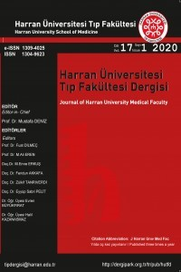 Journal of Harran University Medical Faculty