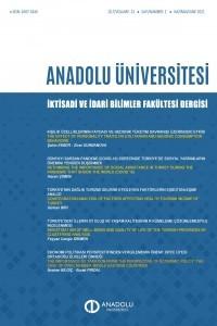 Anadolu Üniversitesi İktisadi ve İdari Bilimler Fakültesi Dergisi