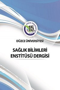 Journal of Duzce University Health Sciences Institute