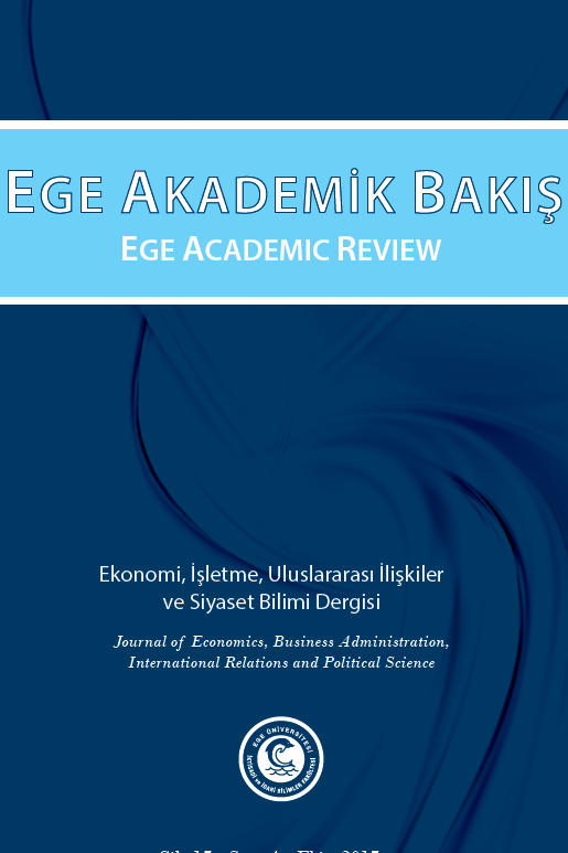 Ege Academic Review