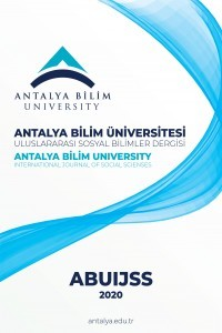 Antalya Bilim University International Journal of Social Sciences