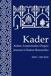 KADER Kelam Araştırmaları Dergisi