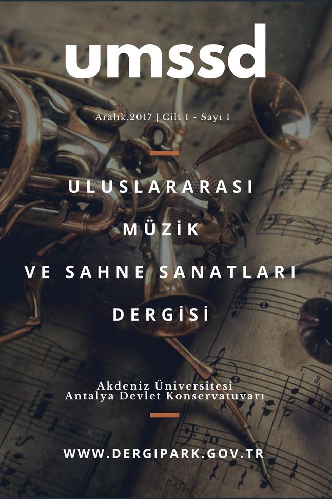 Uluslarası Müzik ve Sahne Sanatları Dergisi