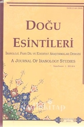 A Journal of Iranology Studies