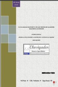 Uluslararası Ekonomi ve Siyaset Bilimleri Akademik Araştırmalar Dergisi