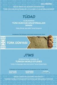 Uluslararası Türk Dünyası Araştırmaları Dergisi