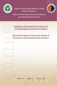 Journal of Cukurova University Faculty of Economics and Administrative Sciences