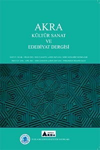 AKRA International Journal of Culture Art Literature and Educational Sciences