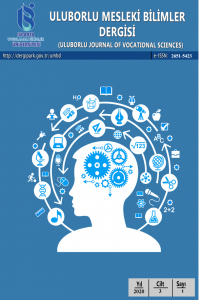 Uluborlu Mesleki Bilimler Dergisi