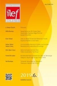 Ankara Universitesi ILEF Dergisi