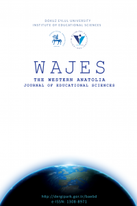 The Western Anatolia Journal of Educational Sciences (WAJES)