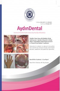 Aydın Dental Journal