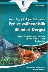 Recep Tayyip Erdoğan Üniversitesi Fen ve Mühendislik Bilimleri Dergisi