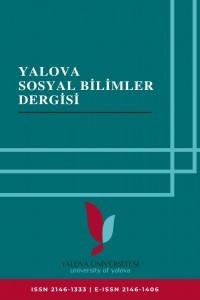 Yalova Üniversitesi Sosyal Bilimler Dergisi