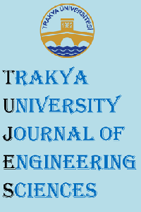 Trakya University Journal of Engineering Sciences