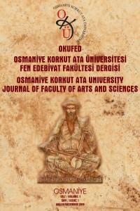 Osmaniye Korkut Ata Üniversitesi Fen Edebiyat Fakültesi Dergisi