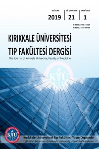 The Journal of Kırıkkale University, Faculty of Medicine