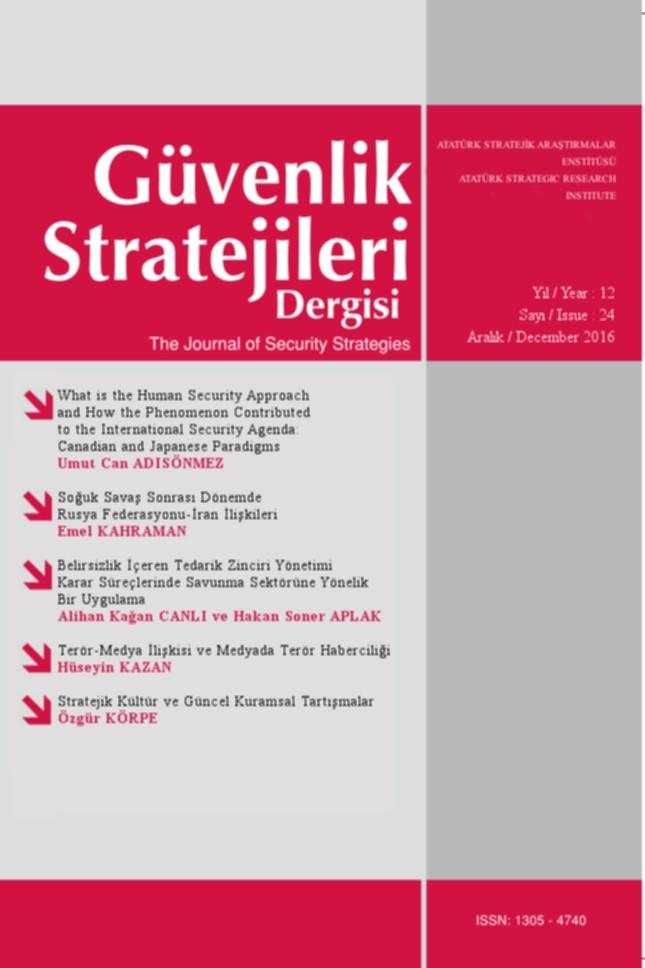 Journal of Security Strategies
