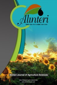Alinteri Journal of Agriculture Science