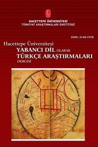Hacettepe Üniversitesi Yabancı Dil Olarak Türkçe Araştırmaları Dergisi