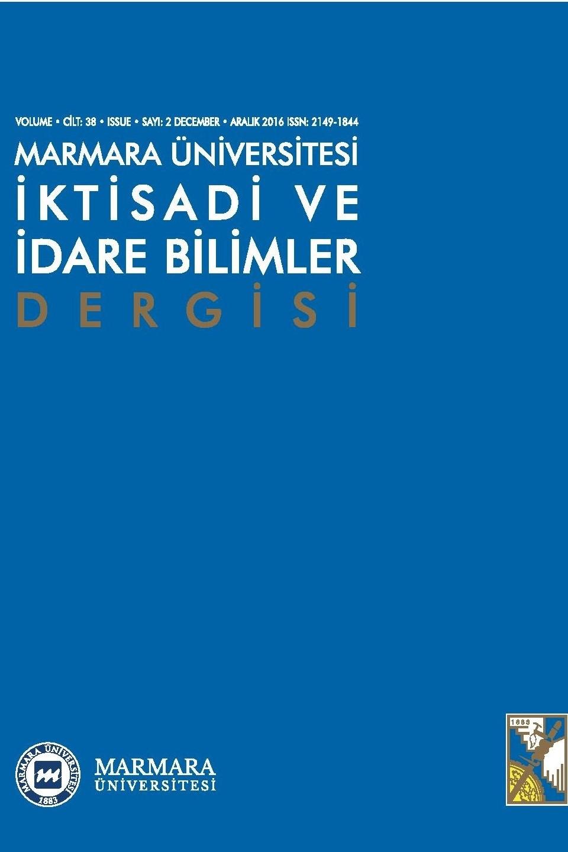 Marmara University Journal of Economic and Administrative Sciences