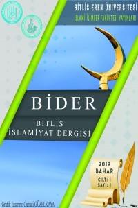 Bitlis İslamiyat Dergisi
