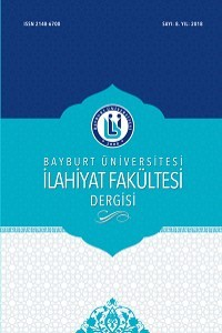 Journal of Divinity Faculty of Bayburt University