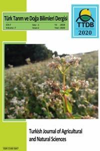 Türk Tarım ve Doğa Bilimleri Dergisi