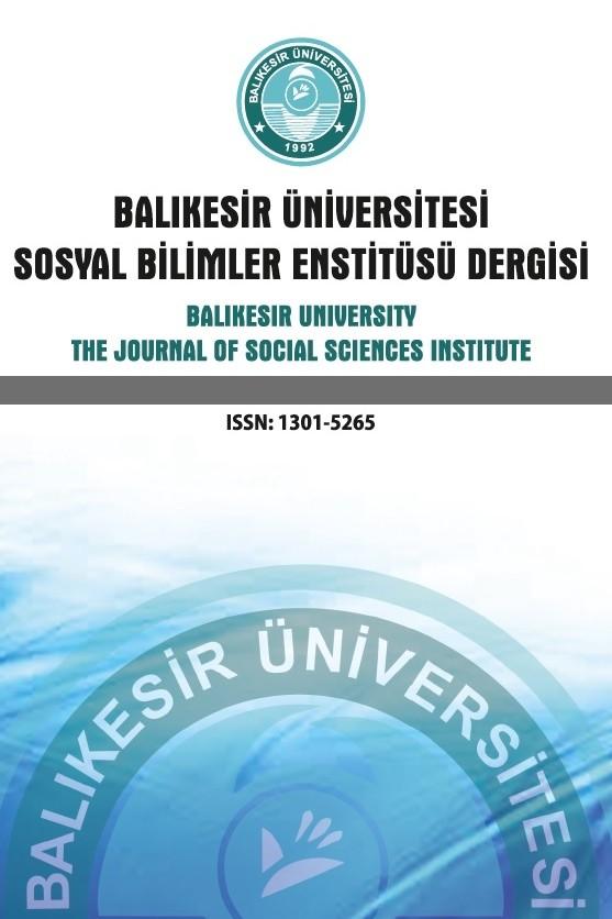 Balıkesir Üniversitesi Sosyal Bilimler Enstitüsü Dergisi