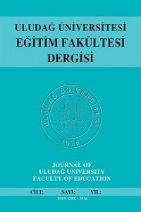 Journal of Uludag University Faculty of Education