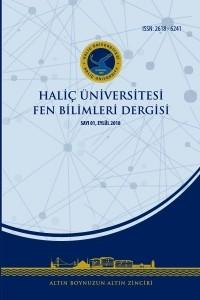 Haliç Üniversitesi Fen Bilimleri Dergisi