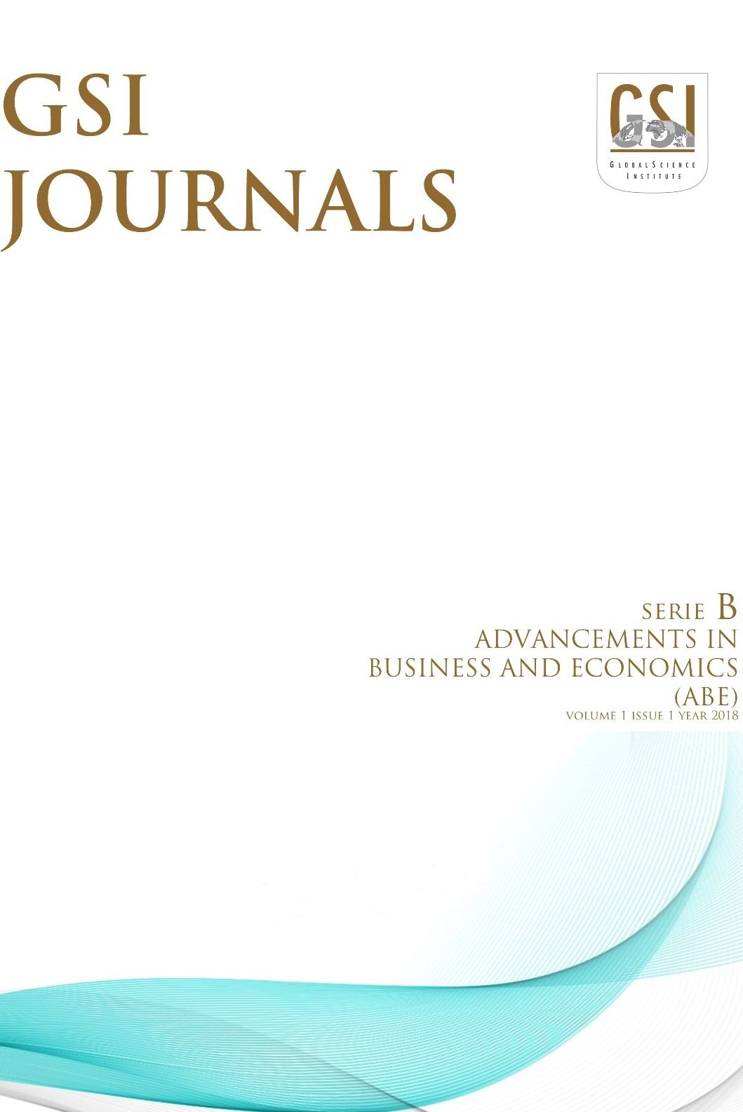 GSI Journals Serie B: Advancements in Business and Economics