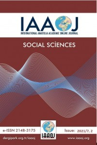 International Anatolia Academic Online Journal Social Sciences Journal